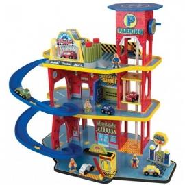 Set de joaca Deluxe Garage - Kidkraft