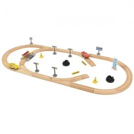 Set de joaca Disney® Pixar Cars 3 Build Your Own Track Pack - KidKraft