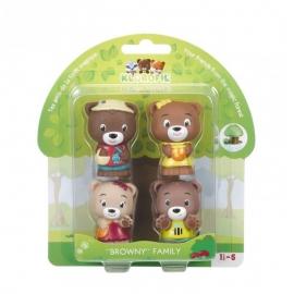 Set figurine - Familia de ursuleti Browny