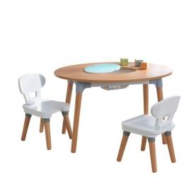 Set masa cu 2 scaune - Mid-Century Kid™ Toddler -  kidkraft