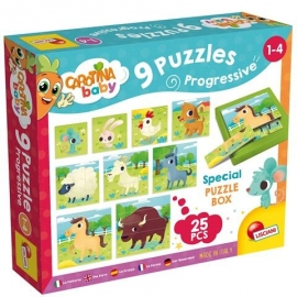 Set puzzle-uri progresive - Ferma