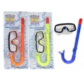 Set snorkeling ochelari + tub junior
