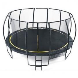 Set trambulina 488 cm cu plasa si scarita Ookee Jump Carbon