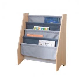 Spatiu depozitare carti Sling Bookshelf Gray & Natural - Kidkraft