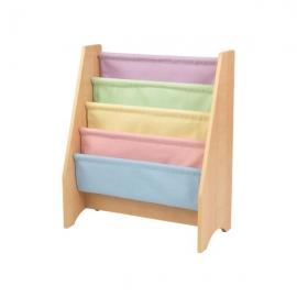 Spatiu depozitare carti Sling Bookshelf, Pastel & Natural - Kidkraft
