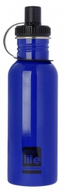 Sticla inox uni 600 ml, EcoLife - Culoare - Bleu