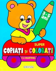 Super copiati si colorati cu Martinel