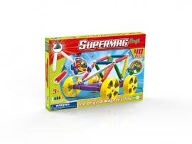 Supermag Maxi Wheels - Set Constructie 40 Piese