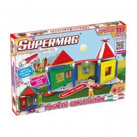 SUPERMAG MY HOUSES - SET CONSTRUCTIE 119 PIESE
