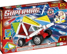 Supermag Tags Wheels - Set Constructie 65 Piese