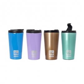 Termos cafea 370 ml EcoLife - Culoare - Sky blue