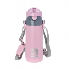 Termos copii, 400 ml, EcoLife - Culoare - Roz