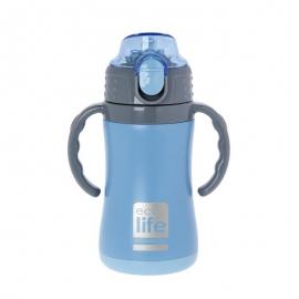 Termos copii cu manere, 300 ml, EcoLife - Culoare - Bleu
