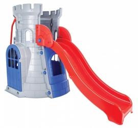 Toboganul din castel pentru copii - CASTLE SLIDE