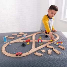 Set de joaca Disney® Pixar Cars 3 Build Your Own Track Pack - Kidkraft