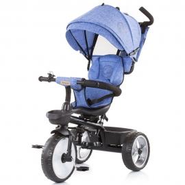 Tricicleta Chipolino Tempo blue linen