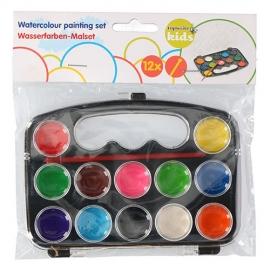 Watercolour paint 12clr plus pencil