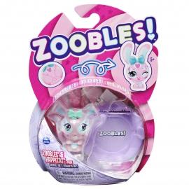 ZOOBLES ANIMALUTE COLECTABILE IEPURAS ROZ