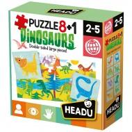 8+1 Puzzle Dinozauri