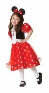 883850H - Costum fete Minnie Mouse rosu marimea L