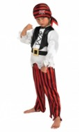 9902H - Costum baieti pirat marimea L