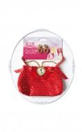 9914H - Set geanta si bijuterii Alba ca zapada