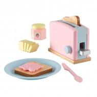 Accesorii pentru bucatarie Pastel Toaster Set - Kidkraft