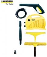 Aparat de spalat cu presiune si accesorii Karcher