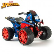 ATV electric Quad the Beast Spiderman 12V - Injusa