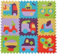 Babygreat Covoras Puzzle Transport 92x92 cm