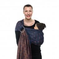 Babylonia sistem de purtare sling cu inel Jacquard BB-Sling Ornate Blue