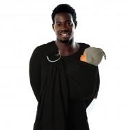 Babylonia sistem de purtare sling cu inel trend BB-Sling Black Beans