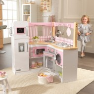 Bucatarie pentru copii Grand Gourmet Corner Kitchen - Kidkraft