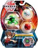 BAKUGAN PACHET START TURTONIUM