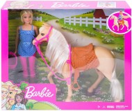 BARBIE SET PAPUSA CU CAL