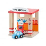 Benzinarie si o masina