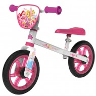 Bicicleta fara pedale Smoby First Bike Disney Princess