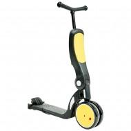 Bicicleta, tricicleta si trotineta Chipolino All Ride 4 in 1 yellow