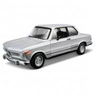 BMW 2002 tii 1972 - argintiu - 1:32 - Colectia Street Clasic