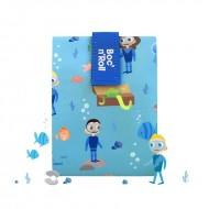 Boc'n'Roll Kids Ocean, Ambalaj reutilizabil pentru sandwich