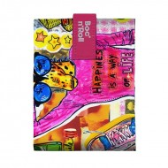 Boc'n'Roll TEENS Girls Giraffe, Ambalaj reutilizabil pentru sandwich