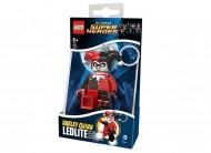 Breloc cu lanterna LEGO® DC Super Heroes Harley Quinn