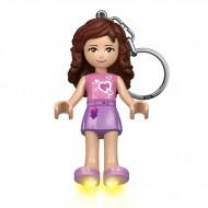 Breloc cu lanterna LEGO® Friends Olivia