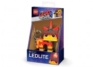 Breloc cu lanterna LEGO® Movie 2 Angry Kitty