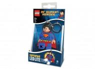Breloc cu lanterna LEGO® Superman
