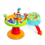 Bright Starts – 60368 Centru de activitati 3-in-1 Around We Go Zippity Zoo