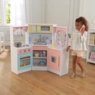Bucatarie Deluxe Corner Play - Kidkraft