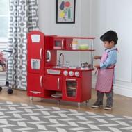 Bucatarie pentru copii Vintage Red Kidkraft