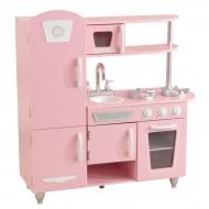 Bucatarie pentru copii Vintage Play Pink - KidKraft