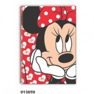 Caiet A4 80 file mate Minnie Sweet
